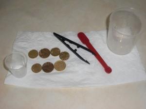 exp rience comment nettoyer de vieilles pi ces de monnaie. Black Bedroom Furniture Sets. Home Design Ideas